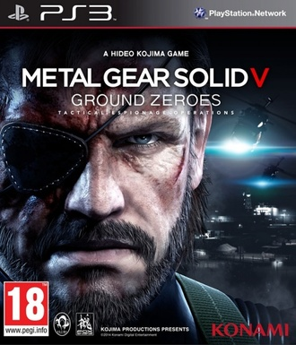 Диск Sony Playstation 3 Metal Gear V: Ground Zeroes