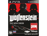 Диск для Sony Playstation 3 Wolfenstein: The new order
